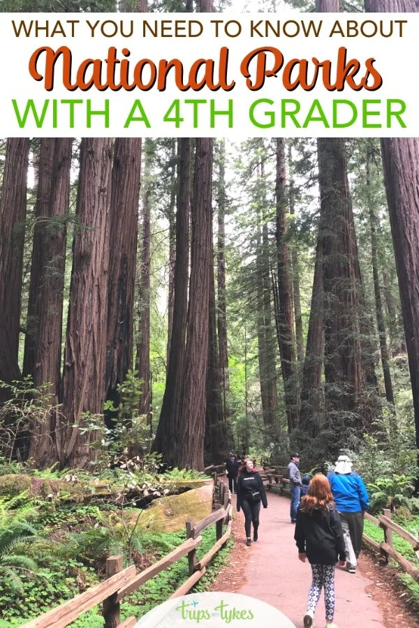 How to visit America's national parks free with your 4th grader. Tips for making the most of the Every Kid in a Park program and teaching your child to love exploring the great outdoors. #EveryKidinaPark #nationalparks #findyourpark #familytravel