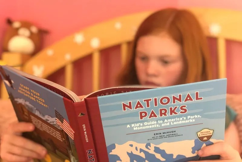 National Parks a Kids Guide