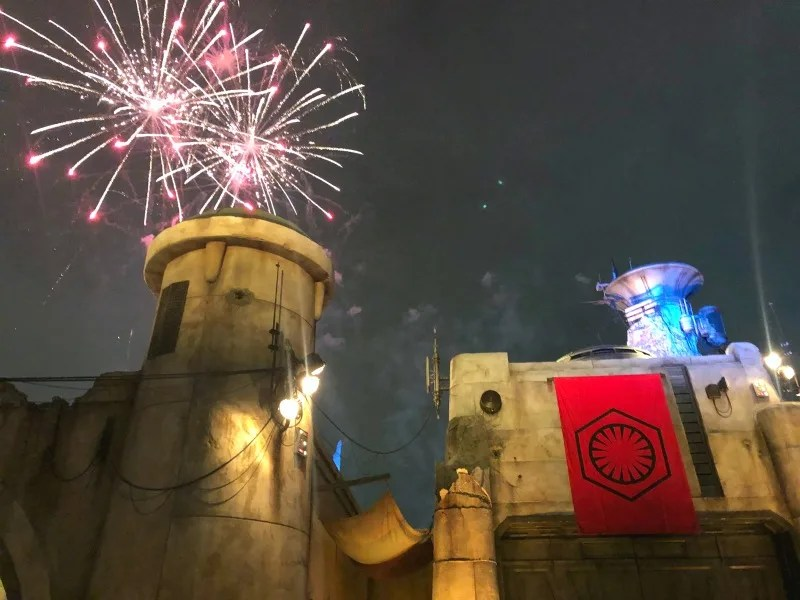 Star Wars Galaxys Edge Review Right and Wrong - Fireworks First Order