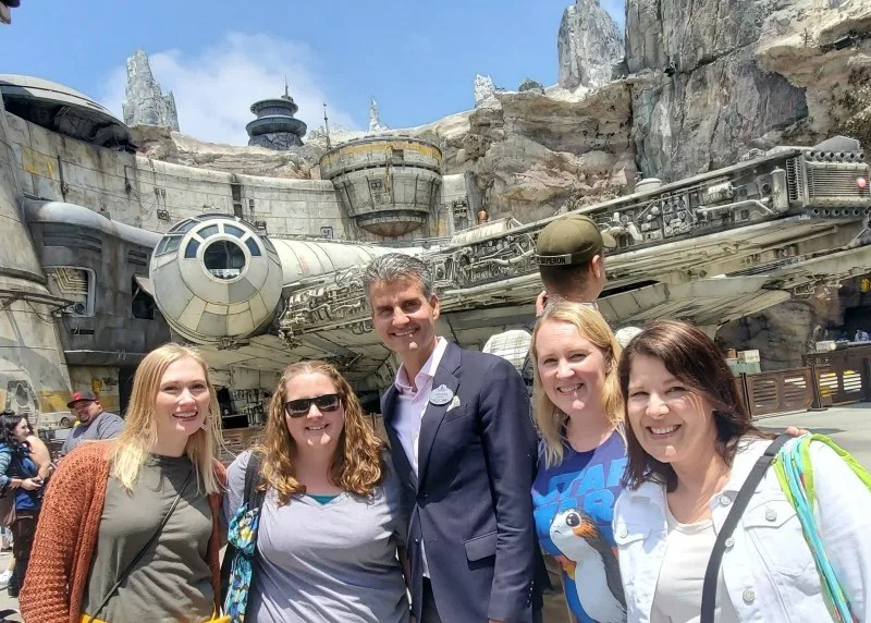 Star Wars Galaxys Edge Review Right and Wrong - Josh D'Amaro President of Disneyland
