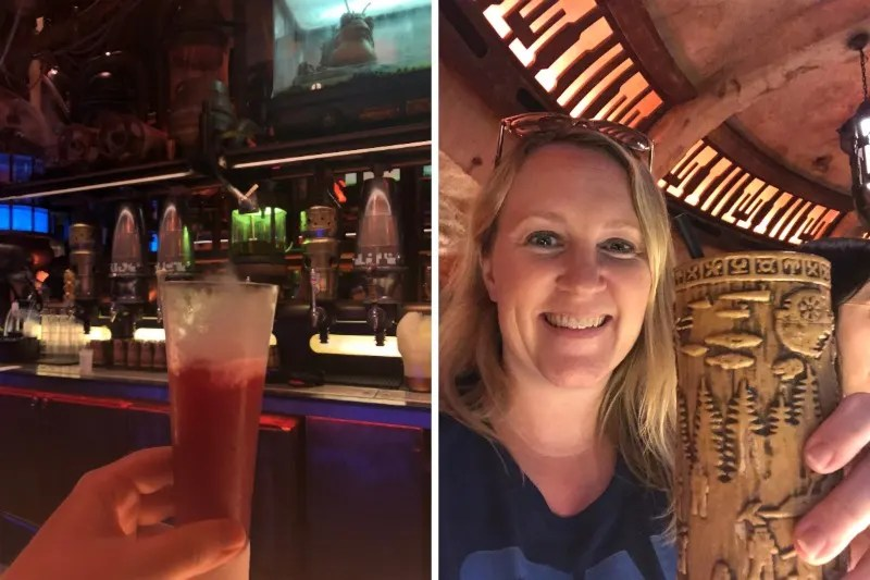 Star Wars Galaxys Edge Tips Disneyland - Ogas Cantina Drinks