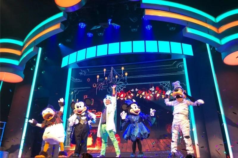 Oogie Boogie Bash Disneyland - Mickeys Trick and Treat Show