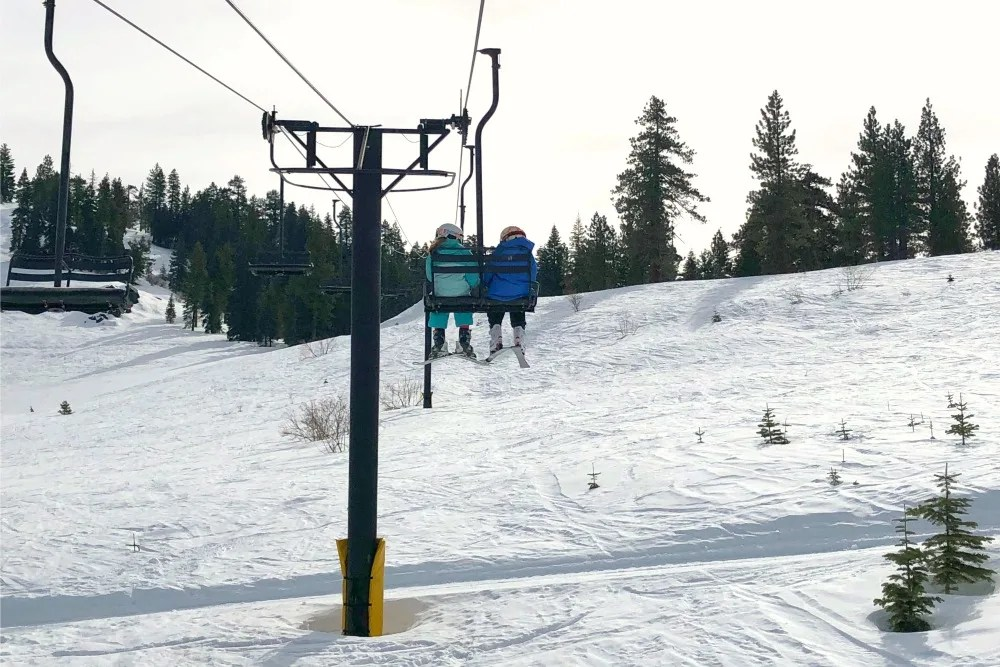 Dodge Ridge in the Sierras is the closest ski resort to San Francisco