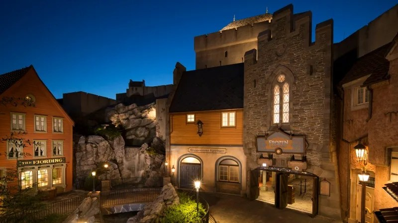 Frozen Ever After Norway Pavilion