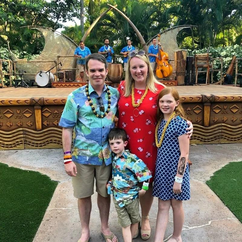 Disney Aulani with Preschoolers - KAWAA luau