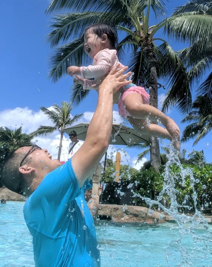 Disney Aulani with a Baby