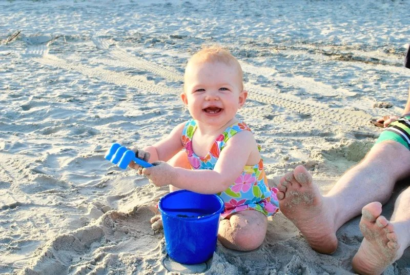 Baby Travel to the Beach