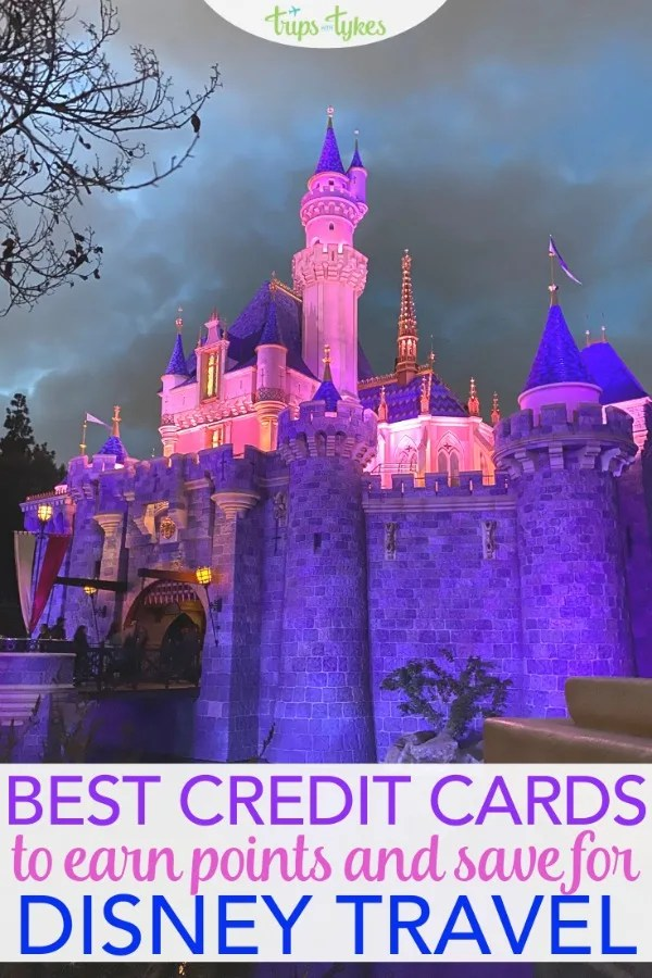 What are the best credit cards to earn points for travel to Disney destinations like Disneyland, Disney World, and Aulani? A detailed look at the top airline, hotel, and flexible points rewards cards. And the surprise revelation that the card many travelers automatically think of may actually be the least lucrative! #Disneyland #DisneyWorld #creditcards
