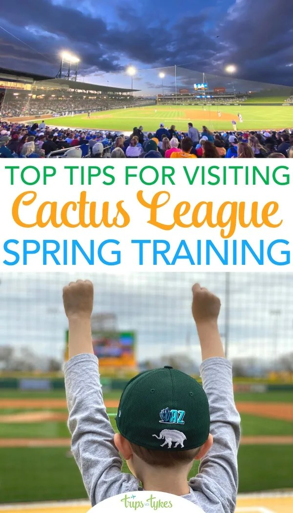 Baseball spring training in Arizona's Cactus League makes for a family-friendly vacation. Get all the tips for travel to greater Phoenix with kids and how to make the most of all the baseball fun and beyond.