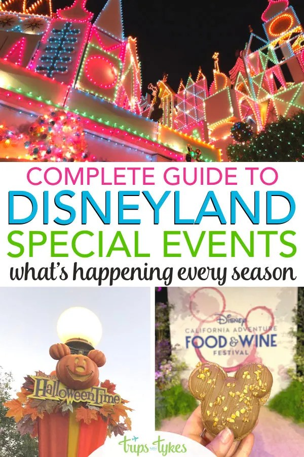 What season is best to visit Disneyland in Anaheim, California? Pick the best time for a trip to the Happiest Place on Earth by consulting this guide to all the seasonal festivals, celebrations, and holidays events each year. With historical date information to help you plan even before Disney releases dates!