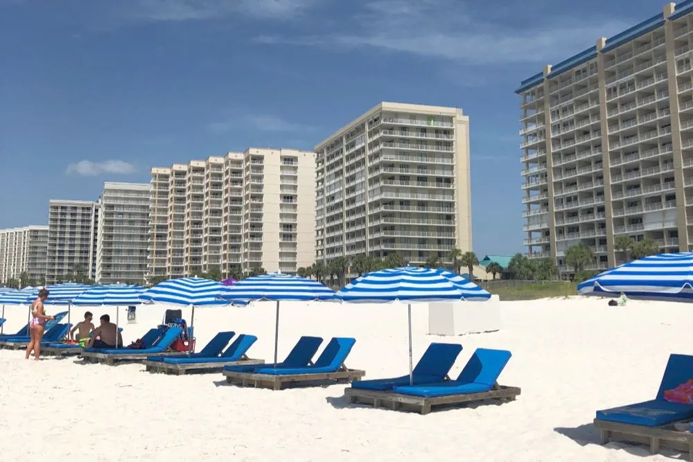 Orange Beach Alabama Beach Chairs Condos