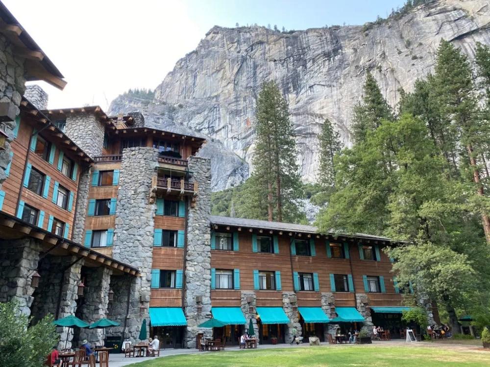 Yosemite National Park - Ahwahnee Hotel
