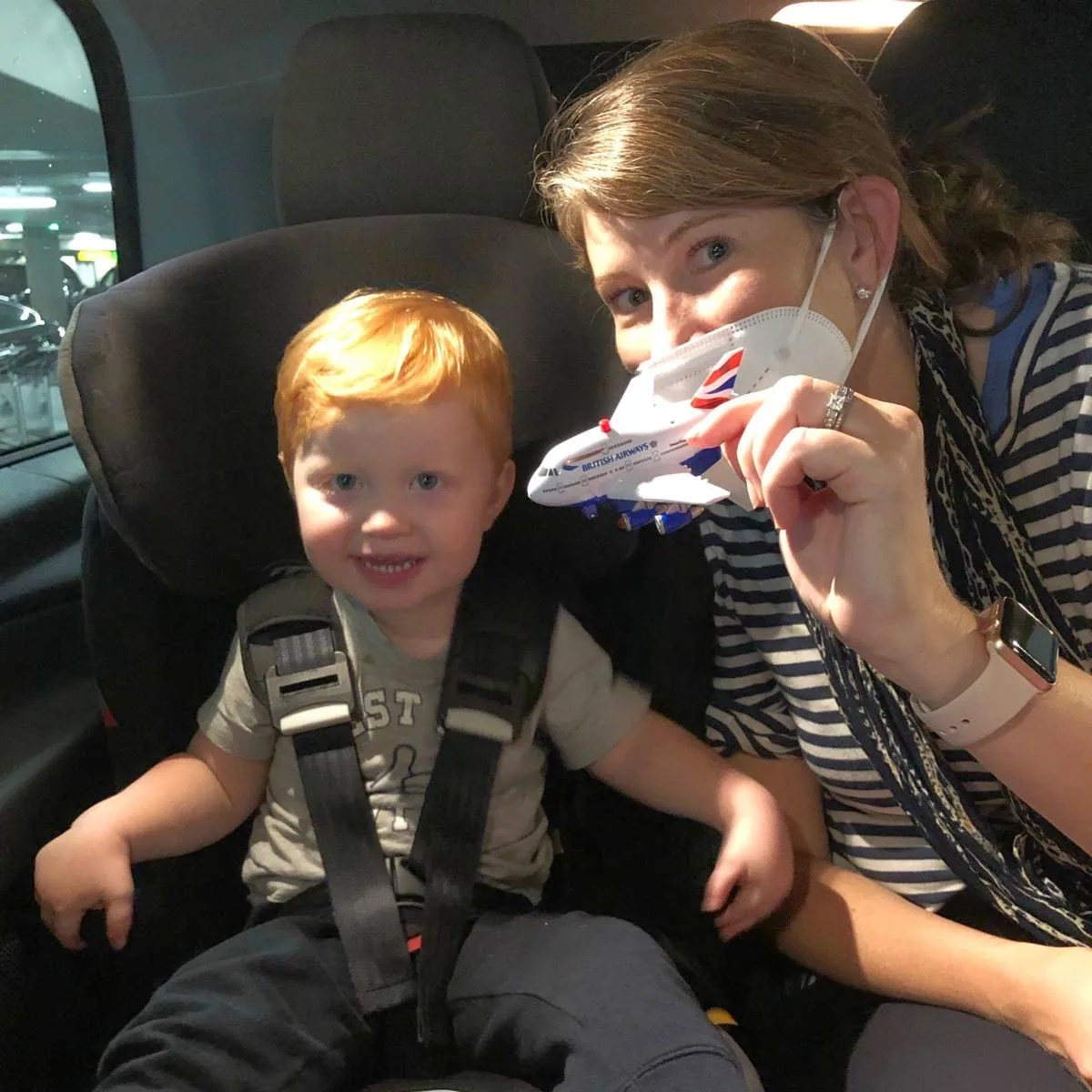 Arrival London Heathrow with Toddler
