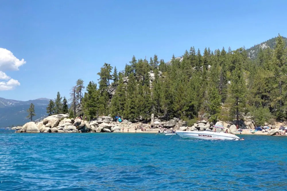Lake Tahoe Chimney Beach