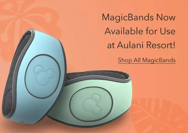 Aulani MagicBands