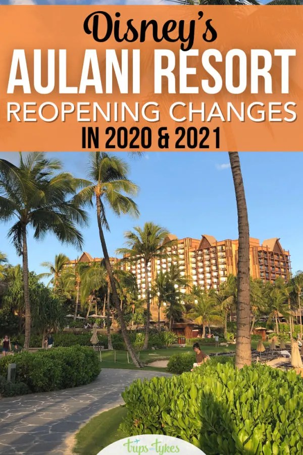 Disney's Aulani Resort in HawaiI reopened November 1, 2020. Find out how the resort in O'ahu is operating differently at partial capacity, including what mask and testing requirements apply, what activities are closed, and whether an Aulani vacation is worth it right now for Disney fans.