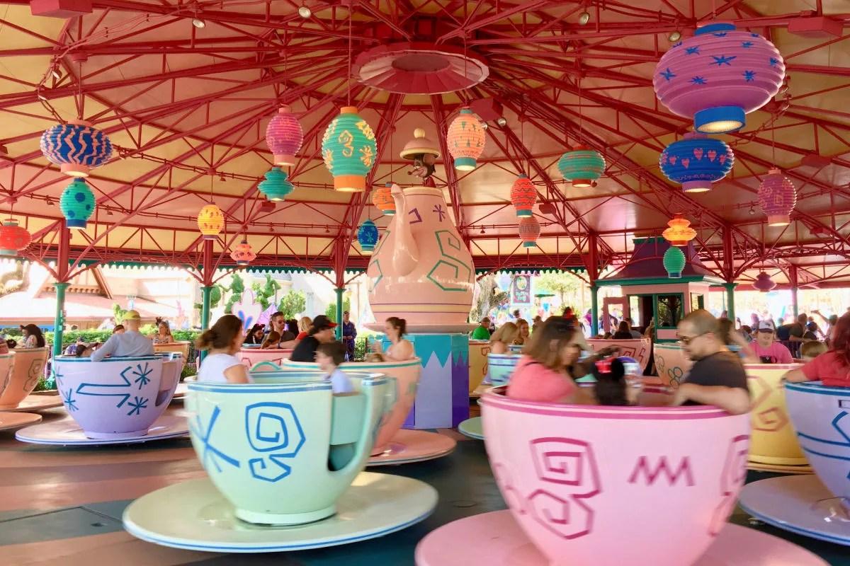 Disney World Tea Cups