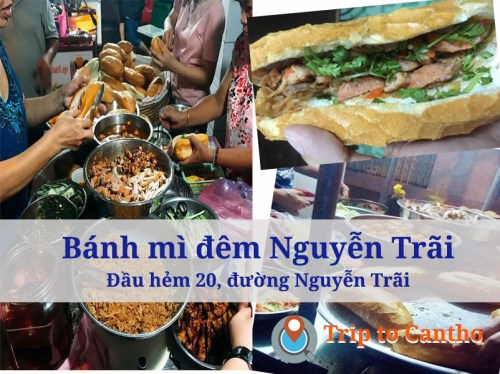Top 5 banh mi (Vietnamese sandwich) in Can Tho