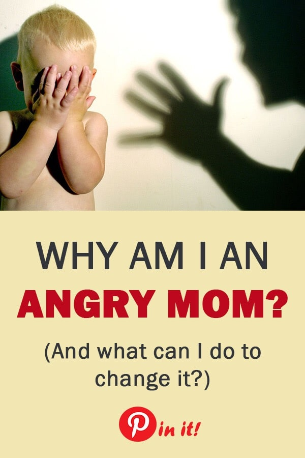 Why am I an angry mom? Here are 20 positive parenting tips to help you become a more patient mom. #motherhood