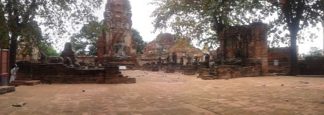 Wat Mahathat panoramic