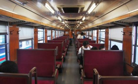 interior of paleo express