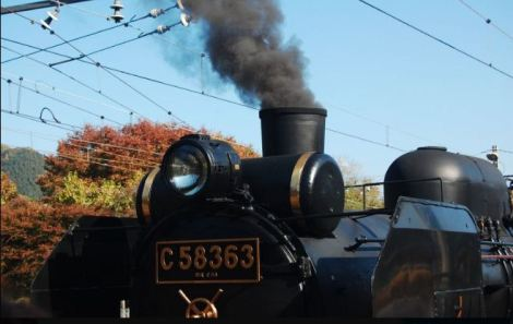 paleo express steam locomotive