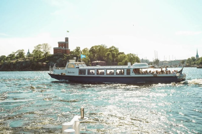 Ferry in Stockholm