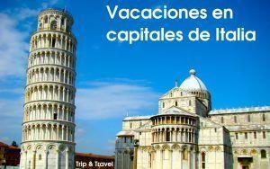 Visita a las principales capitales de Italia. Roma, Florencia y Venecia
