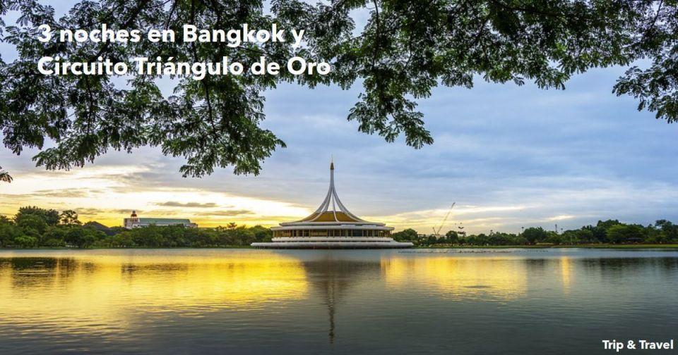 3 noches en Bangkok, circuito Triángulo de Oro, opcional playa, Chiang Rai, Chiang Mai, Tailandia, Asia, vacaciones, lunas de miel, City Tour