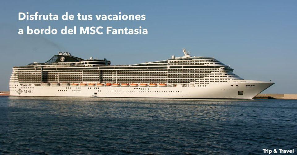 8 días a bordo del MSC Fantasia desde Dubái, Emiratos Árabes Unidos, cruceros, vacaciones, Abu Dhabi, Muscat, Omán, Golfo Pérsico, Golfo Arábigo, Mar Arábigo