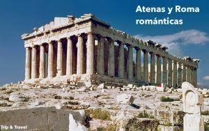 Atenas y Roma romántica, Grecia, Italia, Corinto, Epidauro, Nauplia, Olimpia, Patras, Brindisi, Trani, Nápoles, vacaciones, lunas de miel, viajes románticos