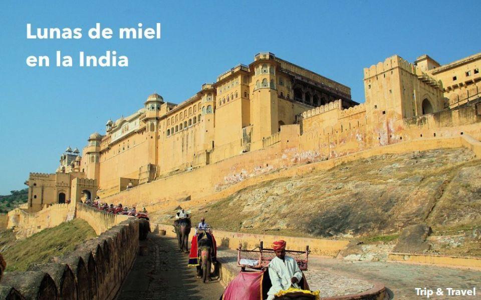 Viaje romántico a la India, alojamiento y desayuno, guía indio, hidroavión, lunas de miel, Taj Mahal, Amber, Jaipur, Fatehpur Sikri, Agra, Delhi