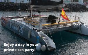Tenerife Boat Party, tours, trips, excursions, cheap, tickets, tours, hotels, reservations, restaurants, Playa de las Américas, Puerto Colón, Puerto de la Cruz, Spain