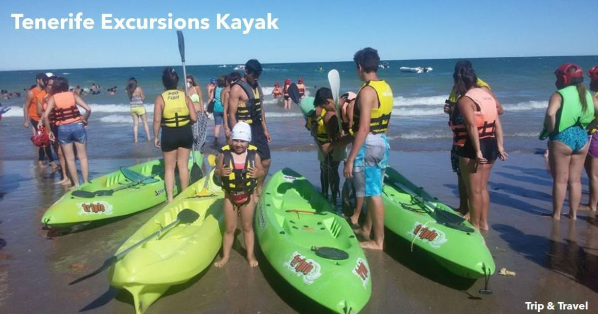 Tenerife Excursions Kayak, hotels, tickets, reservations, restaurants, snorkeling, jetski, zealot boats, scuba diving, fishing, whales watching, Canary Islands, Spain