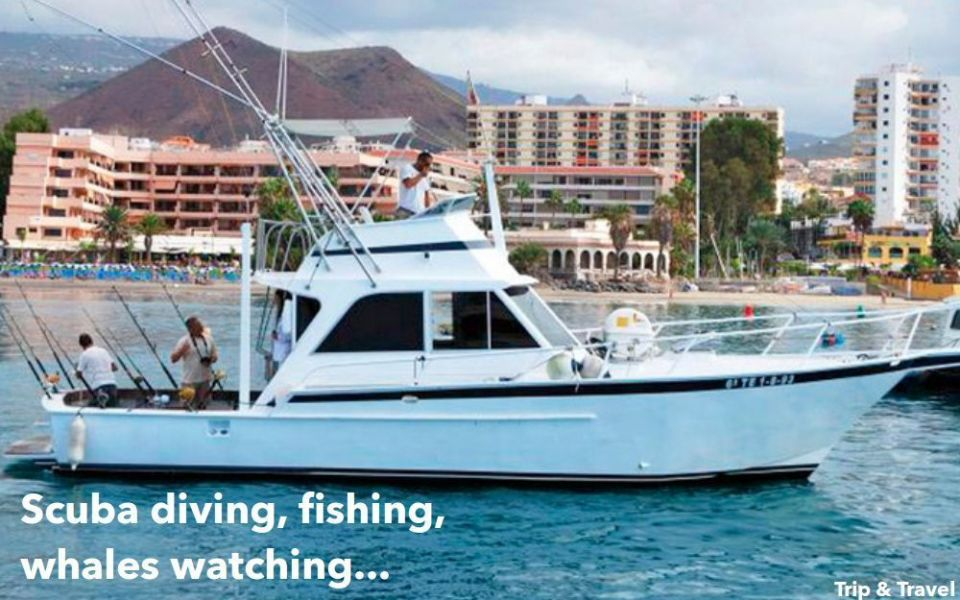Tenerife Holiday Excursions, Canary Islands, Spain, hotels, tickets, reservations, restaurants, trekking, jeeps, quads, buggies, scuba diving, fishing, whales watching