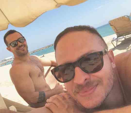 pareja gay en Barcelona