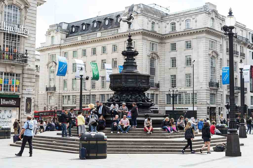 Piccadilly Circus en Londres