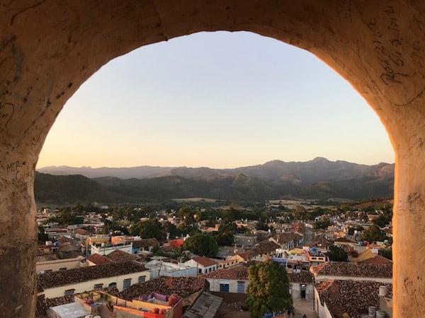 Campanario en Trinidad Cuba