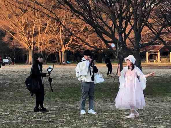 cosplay in Japan Yoyogi Park