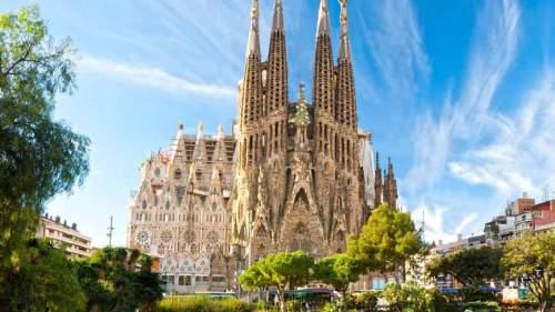 Sagrada Família vooraanzicht