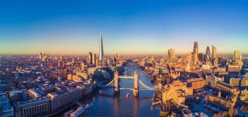 Luchtfoto Londen