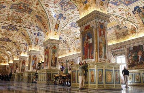 Vaticaan wandelroute