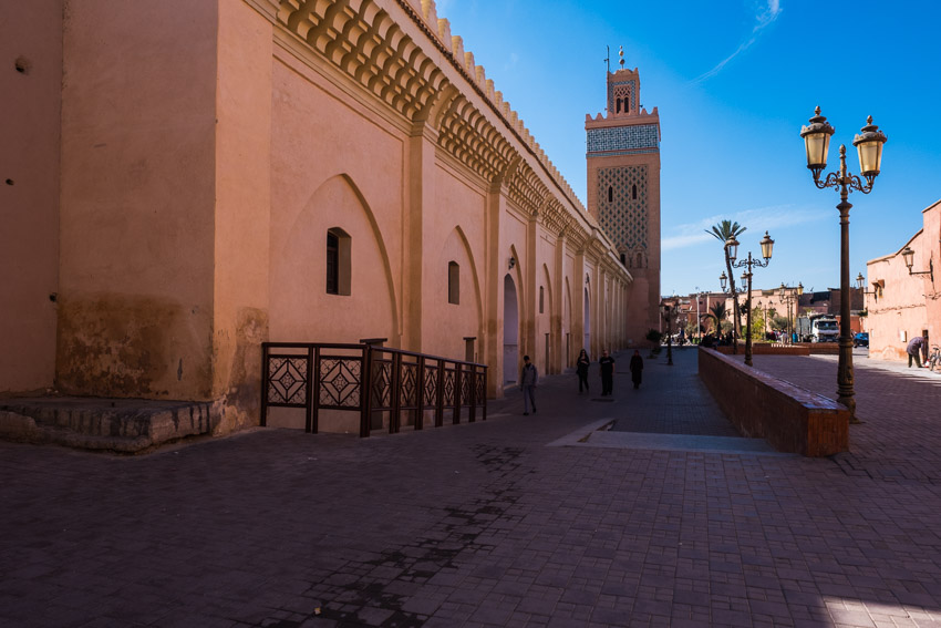 Streets of Marrakesh, Morocco.