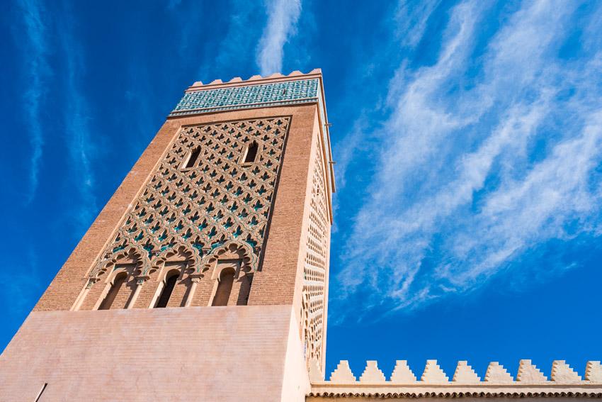 The Bahia Palace Marrakesh, Morocco.