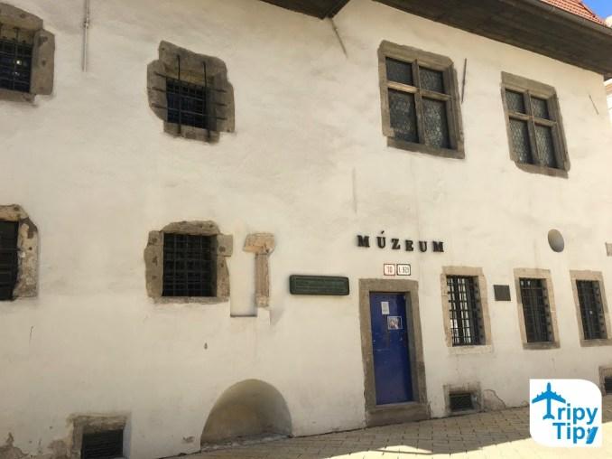 Miklušova väznica v centre Košíc