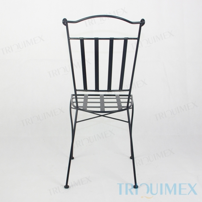 Wrought-Iron-Dining-Chair-Lattice-Seat-6