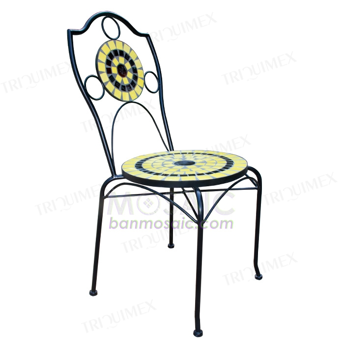 Mosaic Bistro Chair for Indoor and Outdoor Use