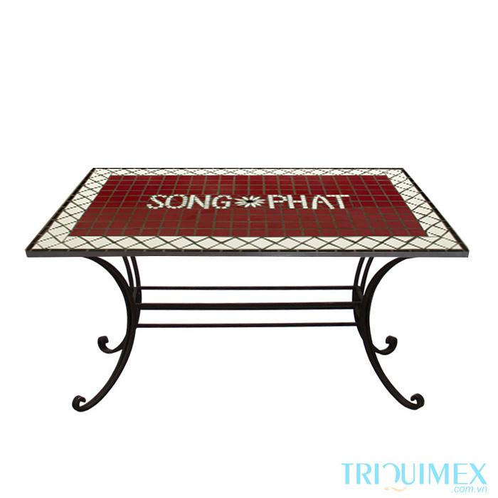 Rectangular-Outdoor-Tile-Top Table-2