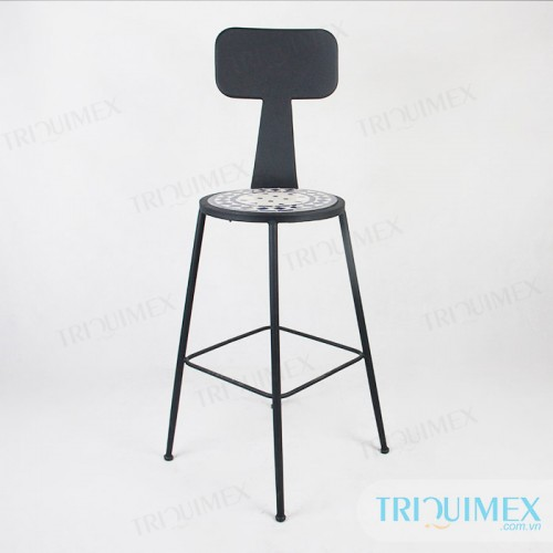 Aesthetic-iron-bar-chair-with-mosatic-seat (5)