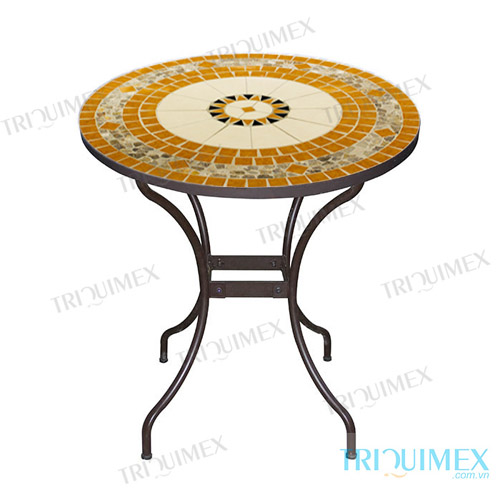 Mosaic-coffee-round-table